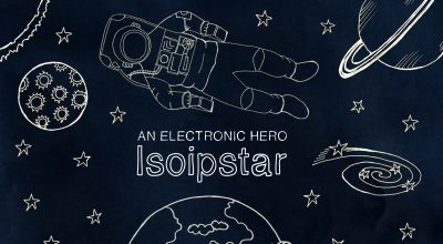 An Electronic Hero, Isoipstar, EP Review, Music Blog, Electronic,