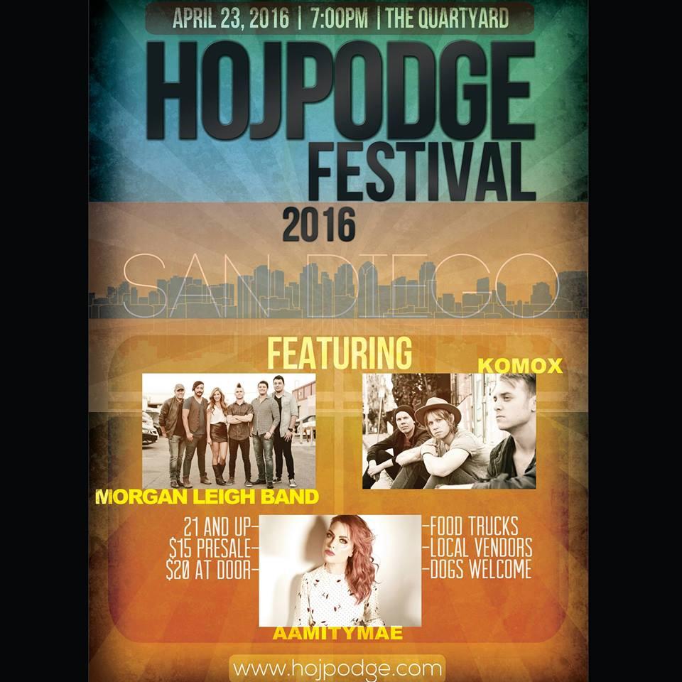 Hodgepodge Festival, Quartyard, April 2016, South California, Music Blog, Live Music Events, Music Reviews,