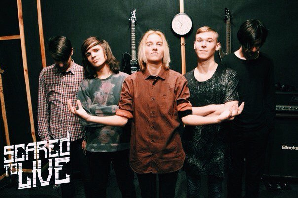 Scared To Live, Metal, Post Hardcore, Music Reviews, Music Blog, Interview,