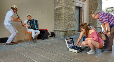 Street Performer, Busker, Busking Salzburg, Busking in Austria, Busking in Europe, Music Blog, Music Reviews, Street Whispers,