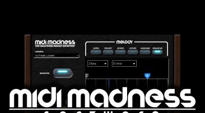 Midi Madness Software, Midi Madness 2, Music Software, Producers, EDM, Plugins,