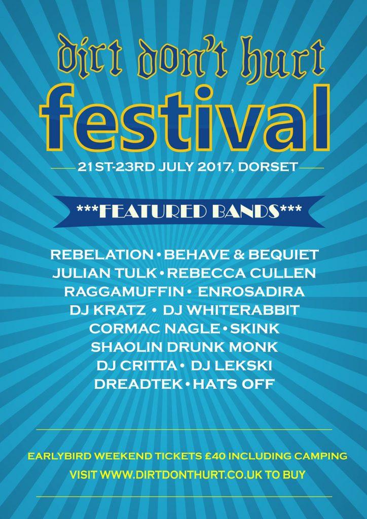 Dirt Don't Hurt Festival, Dorset Music Festival, UK Festival, Music Blog, Independent Music Events, Music Blog,