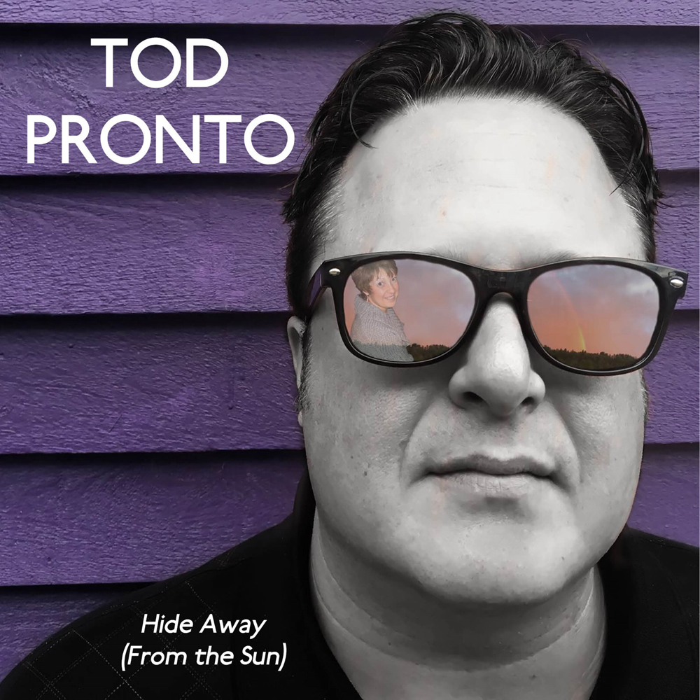Tod Pronto, Hide Away (From The Sun), Single Review, Cancer Awareness, Music Reviews, Independent Music Blog,