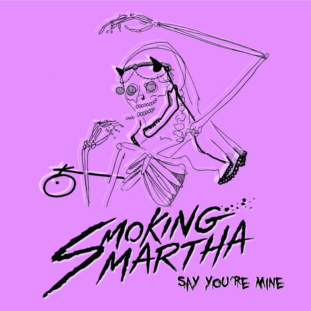 Smoking Martha Rock, Say You're Mine, Single Review, Music Reviews, Independent Music, Blog, Magazine,