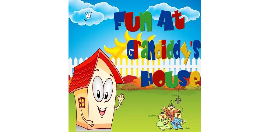 Fun At Grandiddy's House, Podcast, Music Reviews, Podcast Reviews, Children's Podcast, Independent Music,