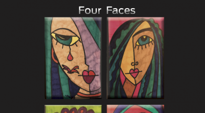 Patrick Ames, Four Faces, EP Review, Music Reviews, Independent Music, Music Blog, Music Promotion,