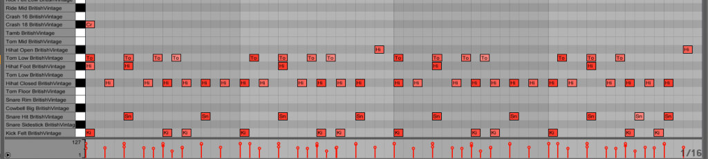 06. 4 bar pattern with variations