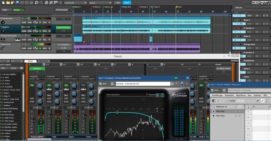 Mixcraft 8, Acoustica, DAW, Software Review, Music Software Review, Mixcraft 8 Review, Pro Studio, New Music Blog, Producer Forum,