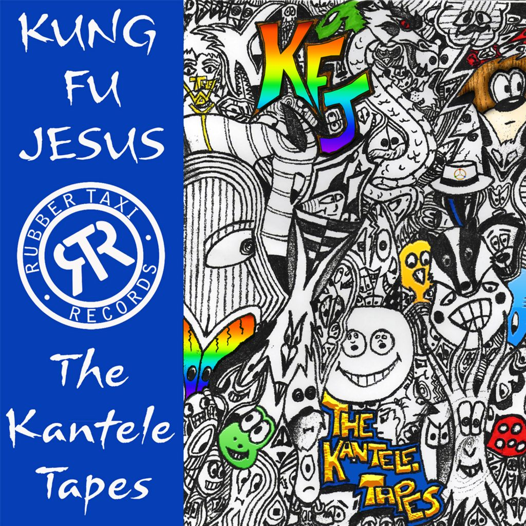 Kung Fu Jesus, The Kantele Tapes, Album Review, Independent Music Blog, Submit Your Music, Indie Bands, Music Promotion, Unsigned Artists, Alternative Music Blog,