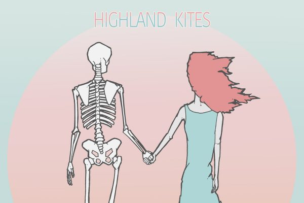 Highland Kites, I'm Not Weak, EP Review, Marissa Lamar, Songwriter, Music Reviews, Indie Blog, Independent Music, Unsigned Bands, Music Promotion, Music Submissions, Lyme's Disease, Songwriting, Synth-pop,