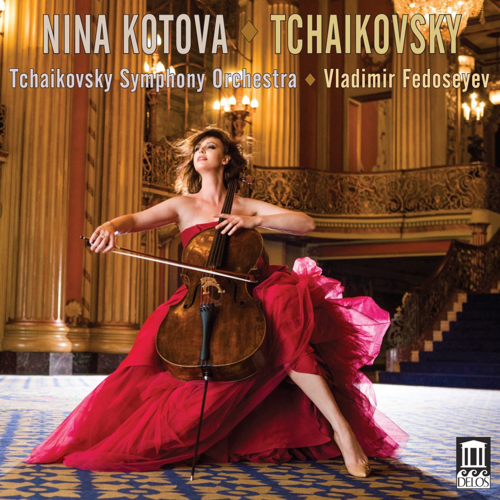 Nina Kotova Plays Tchaikovsky, Album Review, Classical Musicians, Cellist, Russian Musicians, Independent Music, Indie Blog, Music Promotion, Creative Community,