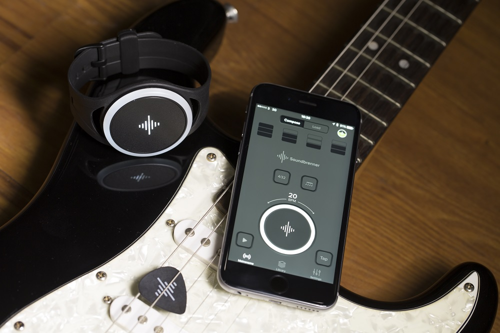 Soundbrenner Pulse, Comprehensive Review, Wearable Technology, Wearable Metronome, Music Tech Reviews, Independent Music, Drummer Wearing Soundbrenner Pulse,