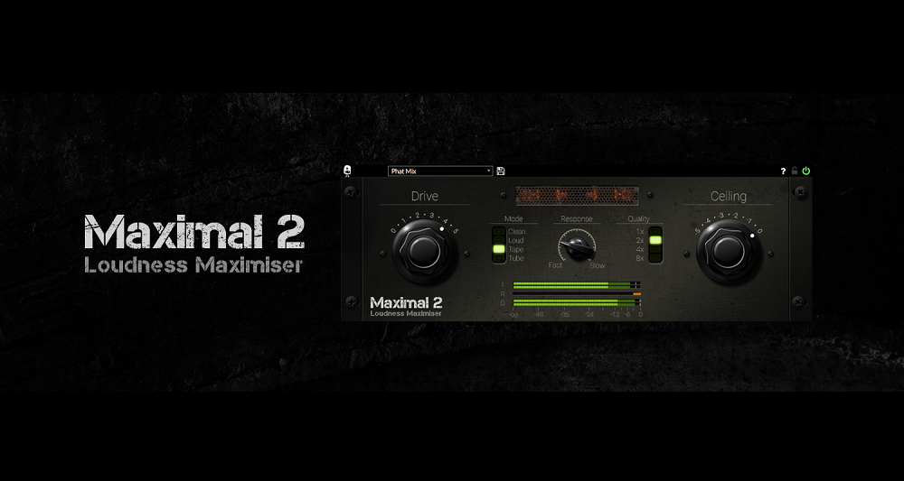 Maximal 2, Venomode, Music Tech, Music Software, Music Production, Musicians, Maximiser, Limiter, Producers, Affordable Music Software, Music Tech Review, Music Tech Blog,