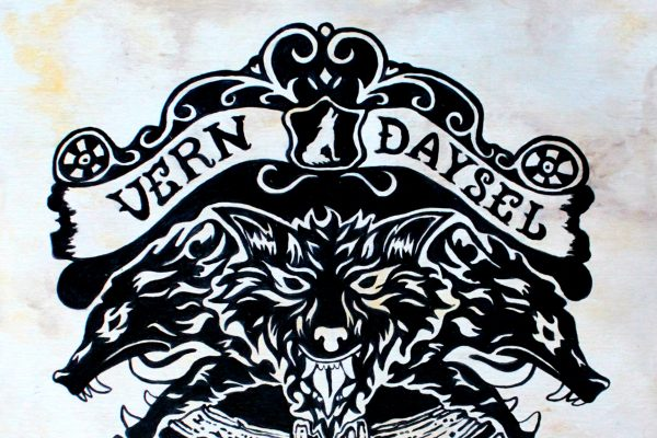 Vern Daysel, Blood Of A Wolf, Album Review, Music Reviews, Indie Blog, Upcoming Hip Hop Stars, Independent Music, Unsigned Artists, Best New Rappers, Music Promotion, Submit Music For Review,