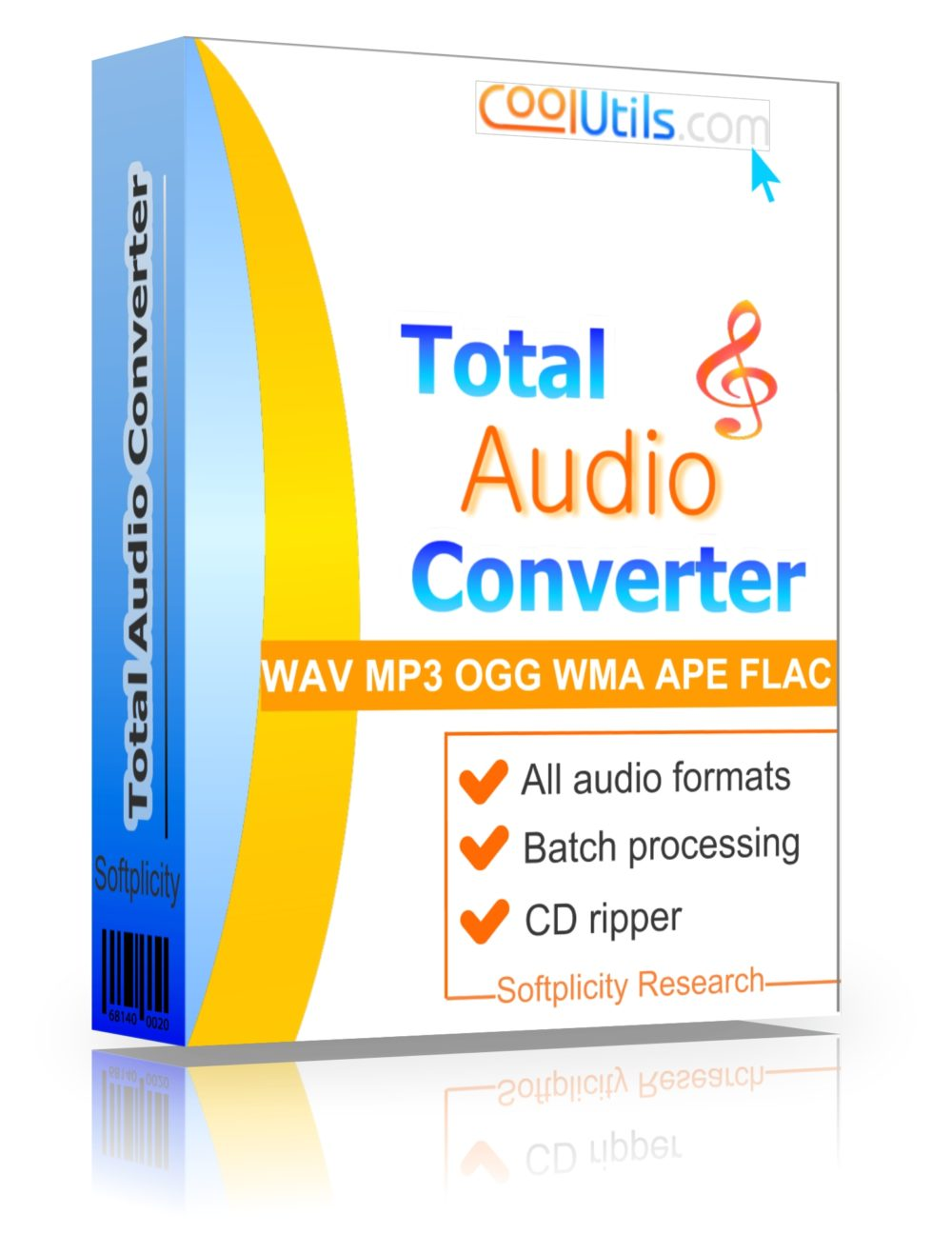 Total Audio Converter - Convert almost any audio to WAV, MP3