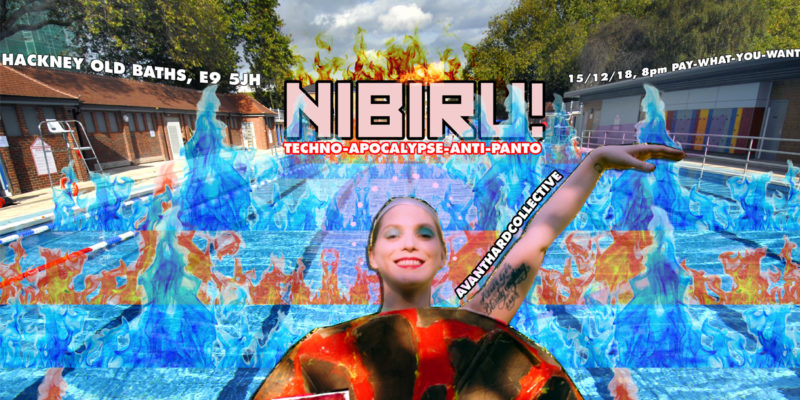 Ergo Phizmiz, Podcast, NIBIRU! Hackney Old Baths, Techno Apocalypse Anti Panto,